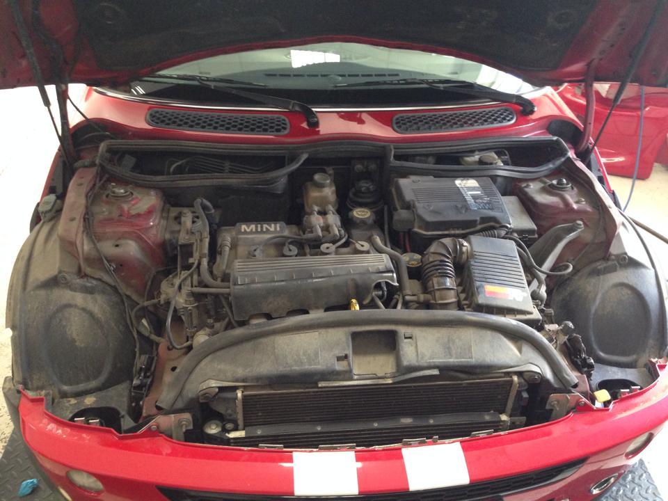 Detailing Motor Mini - inainte