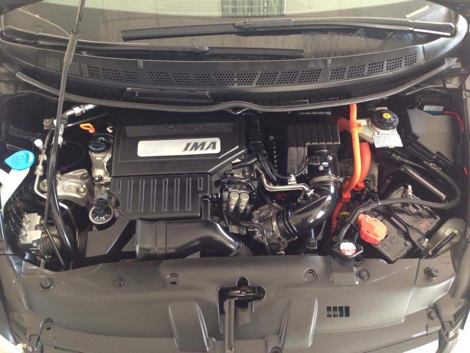 Detailing Motor Honda Civic - dupa