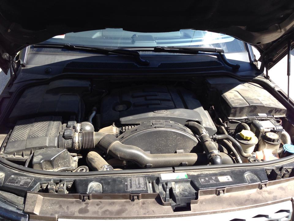 Detailing Motor Land Rover - inainte