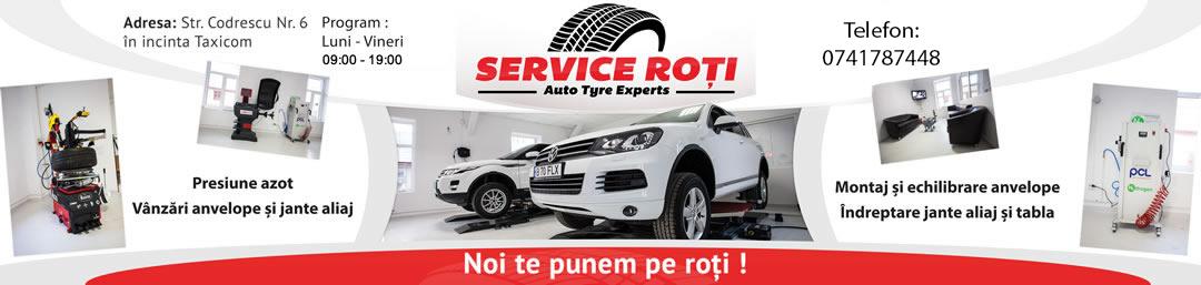 Service Roți - Auto Tyre Experts - Experții tăi în anvelope! Logo